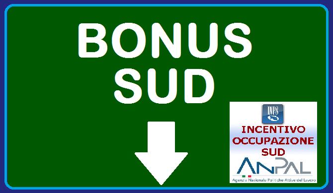 Bonus Sud, la versione 2019