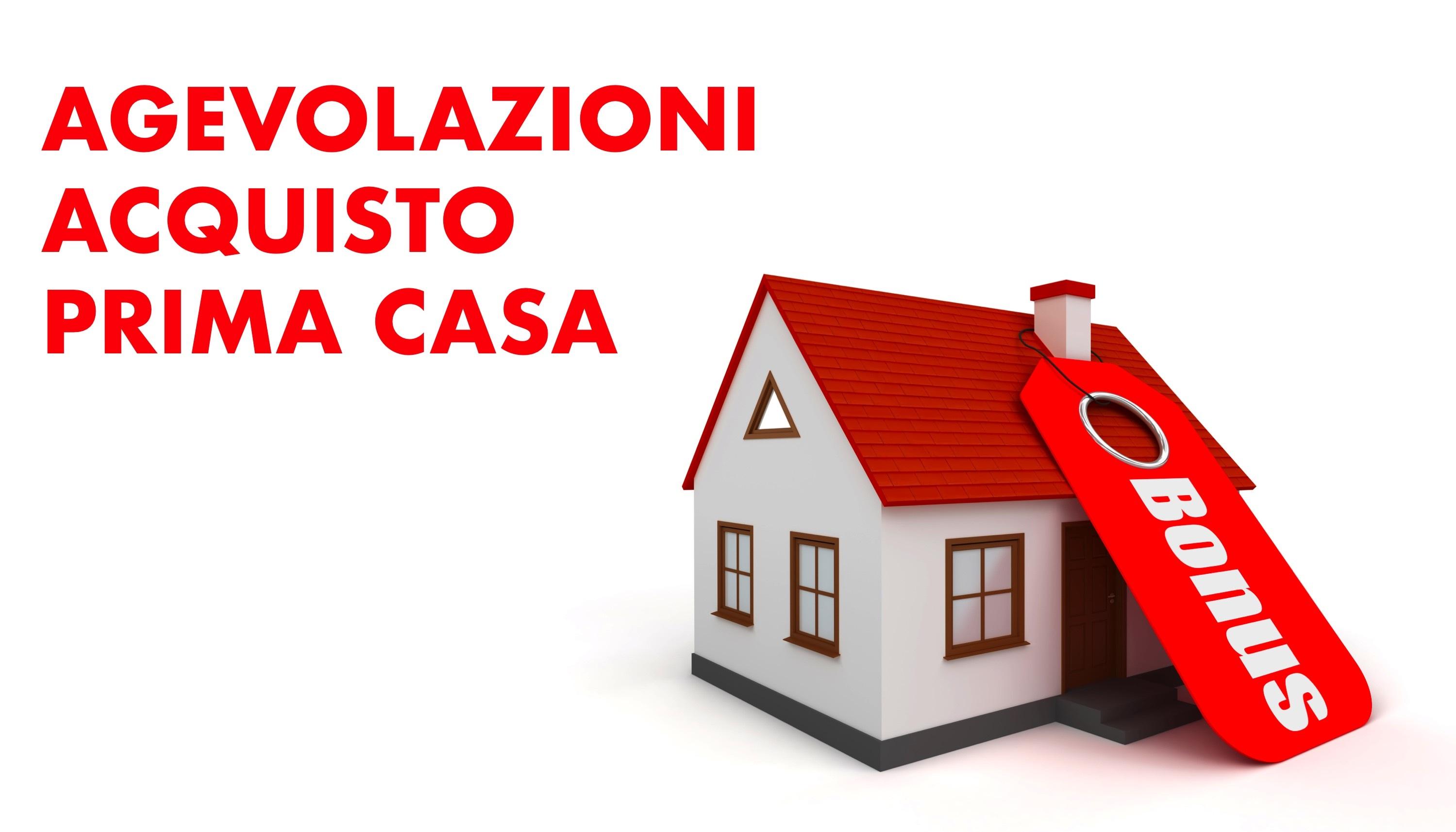 Le agevolazioni per l'acquisto della prima casa