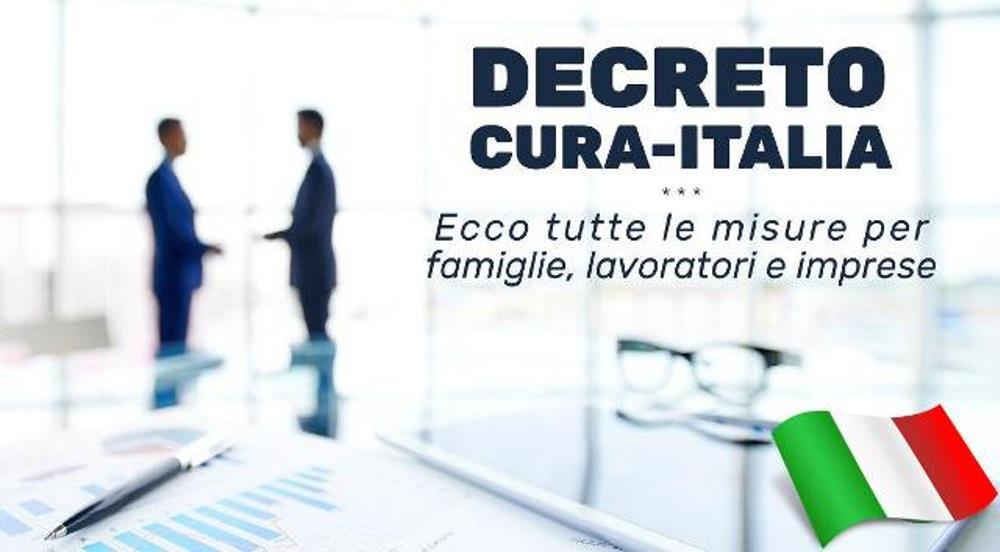 """Decreto """"Cura Italia"""": sintesi delle principali novità"""