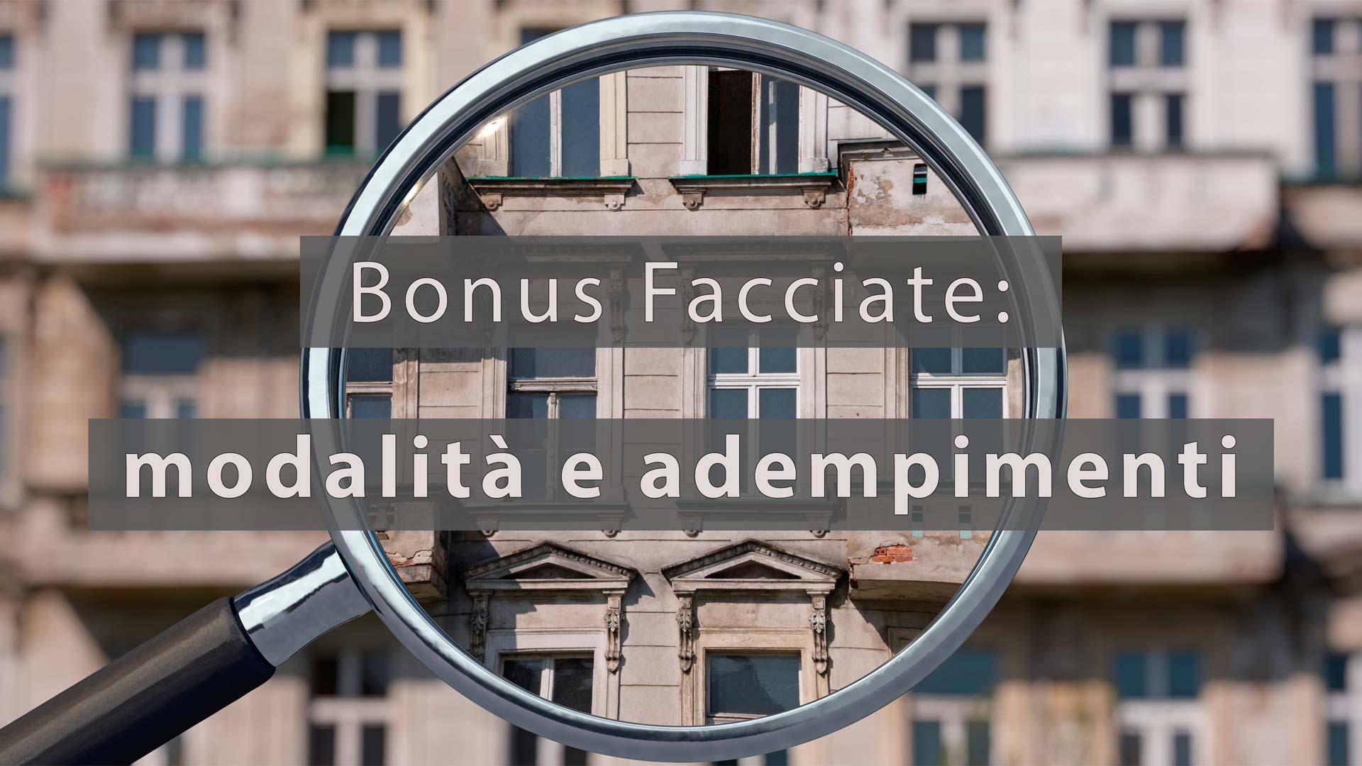Il nuovo Bonus facciate – Gli adempimenti – II° parte