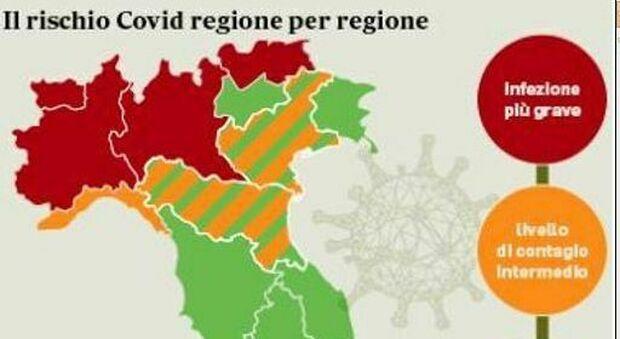L'ITALIA DIVISA IN TRE: LE NUOVE ATTIVITÀ PERMESSE E QUELLE VIETATE